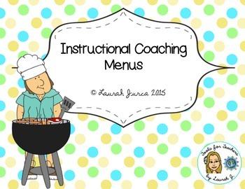 Instructional Coaching Menus