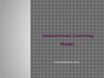 Instructional Coaching Model-PPT