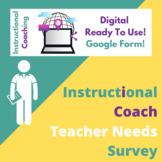 Instructional Coaching Needs Survey