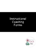 Instructional Coaching Forms