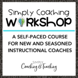 Instructional Coaching Online Professional Development Course