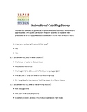 Instructional Coaching Participant Survey
