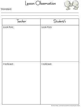 Instructional Coaching Partnership Planning and Reflection.
