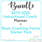 Instructional Coaching Planner Starter Bundle
