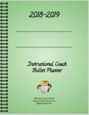 Instructional Coaching Printable Bullet Planner