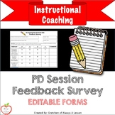 Instructional Coaching: Professional Development [PD] Feed