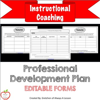 Instructional Coaching: Professional Development Plan