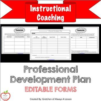 Instructional Coaching: Professional Development Plan