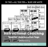 Instructional Coaching: Teacher Appreciation Tags