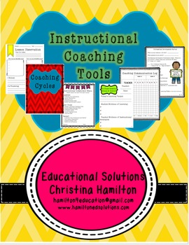 ***Updated*** Instructional Coaching Tools and Coaching Notebook