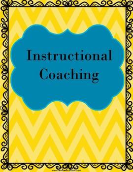Instructional Coaching Tools FREEBIE!!!