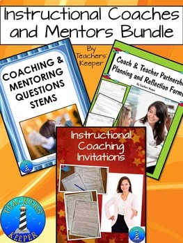 Instructional Coaching and Mentor Document Bundle
