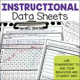Data Sheets EDITABLE Mega-Pack for Instruction for Special