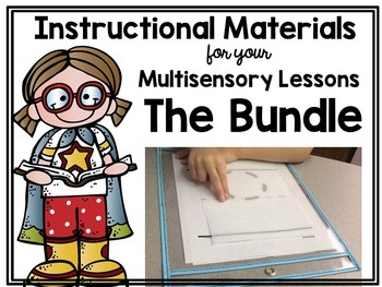 Instructional Materials for your Multisensory Lessons