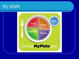 Nutrition Powerpoint (My Plate)