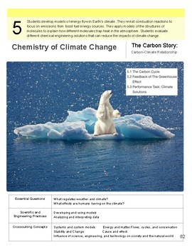 Instructional Segment 5 - Chemistry of Climate Change (blank)