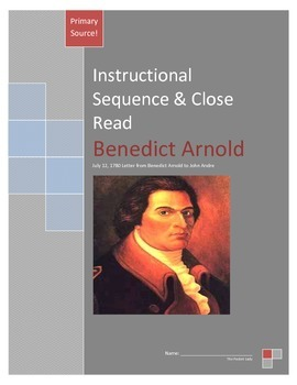 Instructional Sequence and Close Read - Benedict Arnold Letter