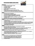 Instructional Uses for Digital Cameras Grade K-5