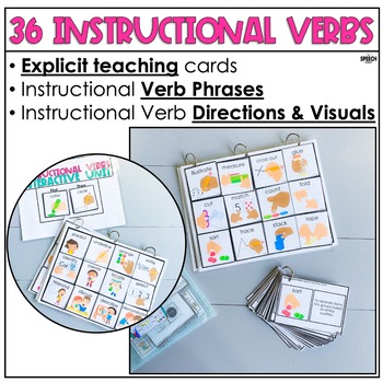Instructional Verbs: Speech Therapy Interactive Unit