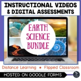 Instructional Videos and Assessments - EARTH SCIENCE BUNDL