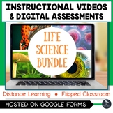 Instructional Videos and Assessments - LIFE SCIENCE BUNDLE