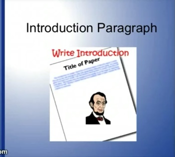 Instructional Videos for writing a Research Paper