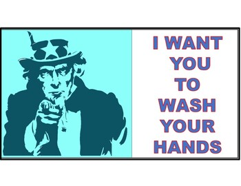 Instructional and Motivational Hand Washing Signs