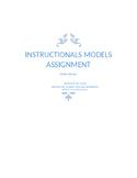 Instructional model Elementary- Pickleball project