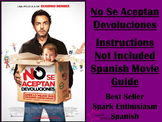 Instructions Not Included (No Se Aceptan Devoluciones) Movie Packet in Spanish