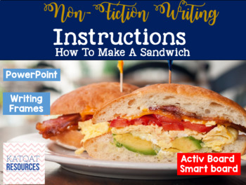 Instructions - Sandwiches