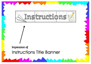Instructions Title Banner