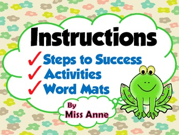 Instructions Writing: Strategies and Helpful Resources