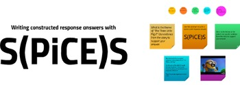 S(PiCE)S - A Model for Answering Constructed Response Questions