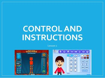 Instructions to control machines - A fun, elementary introduction :) 3 Lessons