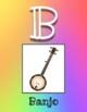 Instrument Alphabet - Music Class! (Rainbow)