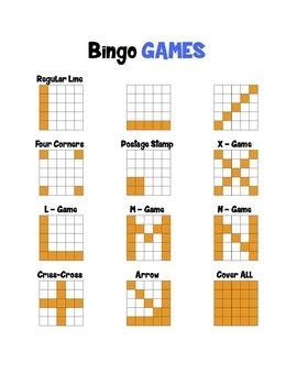 Instrument Bingo