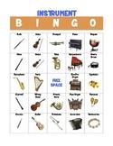 Instrument Bingo Game