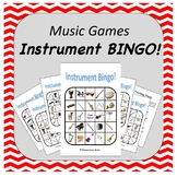 Music Instrument Bingo