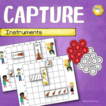 Instrument Capture - File Folder Game