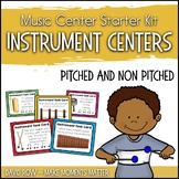 Instrument Centers for Orff Instruments and Nonpitched Percussion