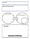 Instrument Classification Chart