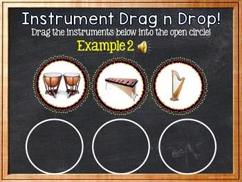 Instrument Drag 'n Drop