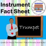 Musical Instrument Fact Sheet - Trumpet