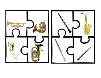 Instrument Families 4pc. Jigsaw