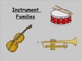 Instrument Families: A Visual Understanding