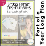 Instrument Families / Brass Family Lesson (based off Core