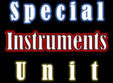 Instrument Families Discussion Starter Media Pack