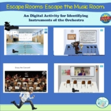 Instrument Families Escape the School Boom Cards™ for Dist