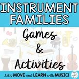 Instrument Families: Games and Activities for Grades K-6