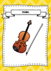 Instrument Families Posters